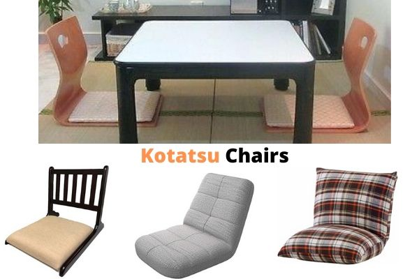 Floor Chairs for Kotatsu Usage