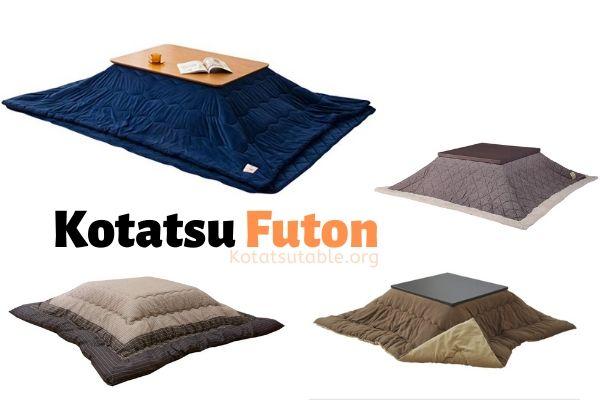 Use these amazing Kotatsu blanket and Futons